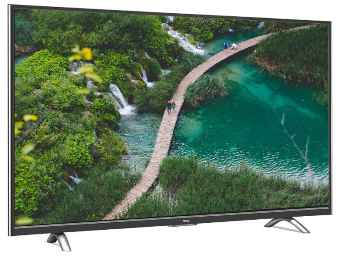TCL L55P1US 55-inch Ultra HD Smart LED TV