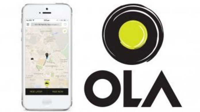 Ola cab booking for iOS10