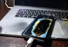 Samsung Galaxy Note 7 Explodes