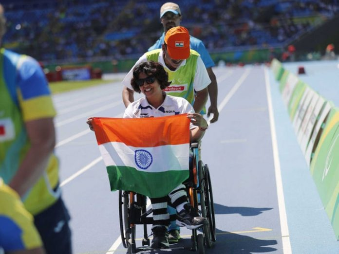 Deepa Malik clinches Silver medal at the Rio Paralympic 2016