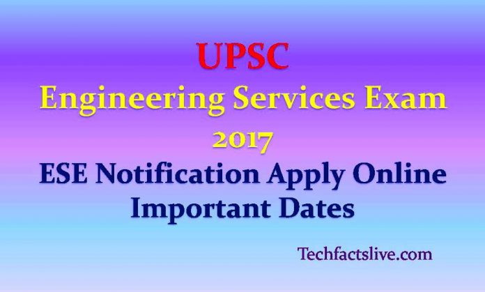 Engineering Services Exam 2017