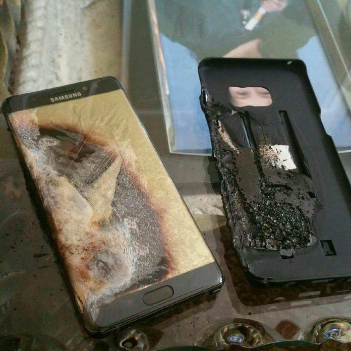 Florida Man Sues of Burning Samsung Galaxy Note 7