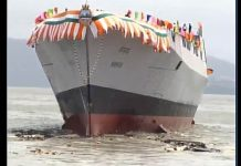 'Mormugao' Indian Navy's Destroyer Advanced Guided Missiles