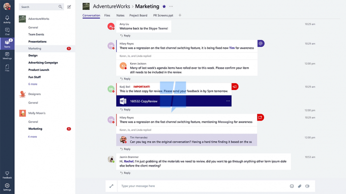 Microsoft is Working on Messaging app