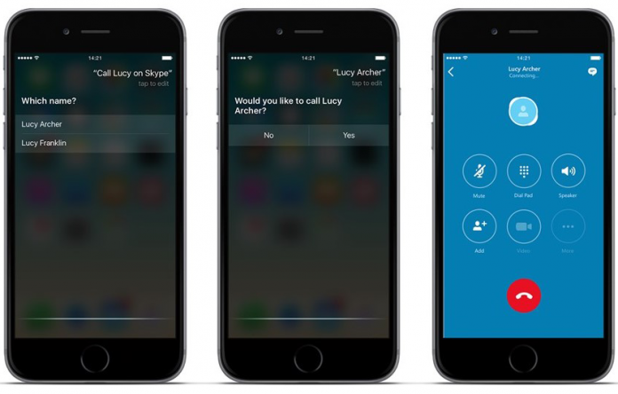 Skype Update on iOS 10 gets New Features