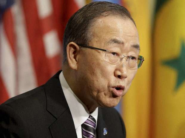 UN chief Ban Ki-moon Offers to Mediate Between India and Pakistan