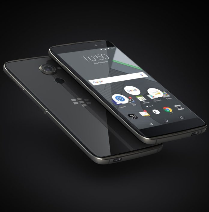 BlackBerry Launched DTEK60 officially