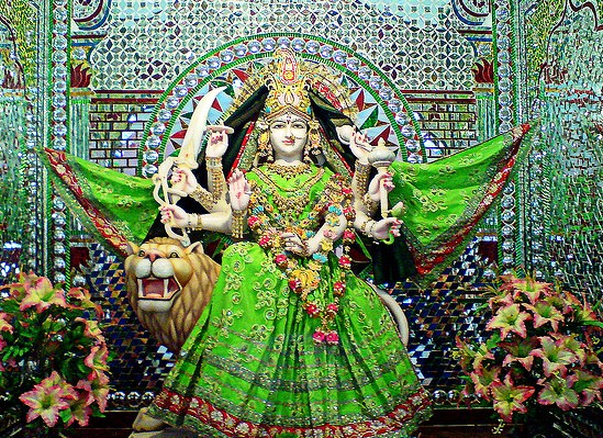 Fourth Day- Chaturthi (GREEN)