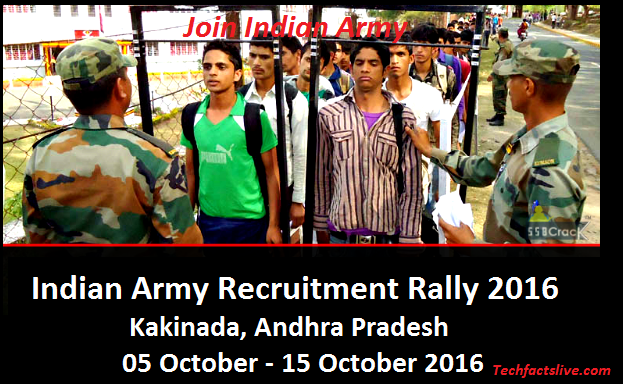 Army Recruitment Rally 2016