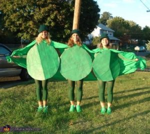 3 peas in the pod costume