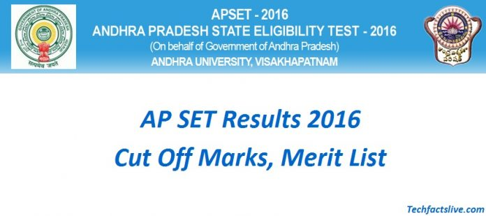 APSET Results 2016