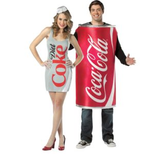 Couple Coke Costume