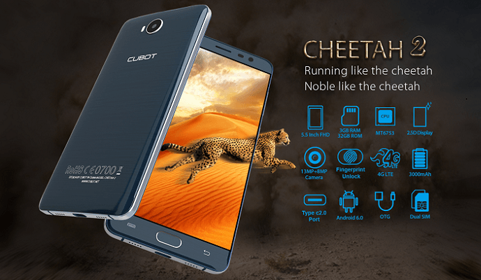 Cubot cheetah 2launched