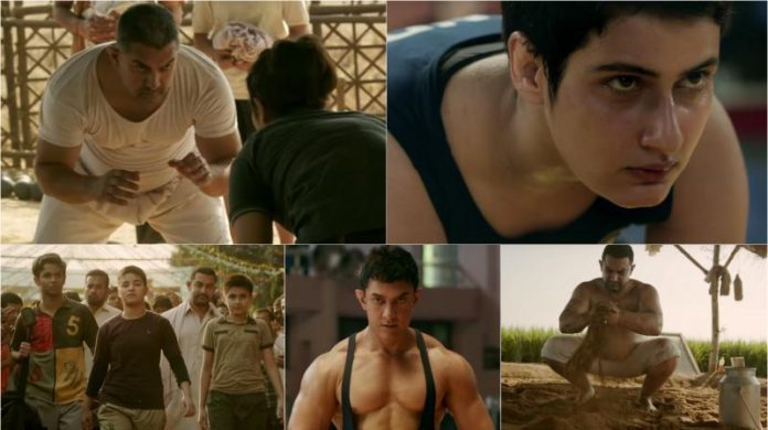 Aamir Khan's latest movie trailer 'Dangal'
