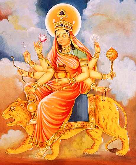 Sixth Day- Shashti (ORANGE)