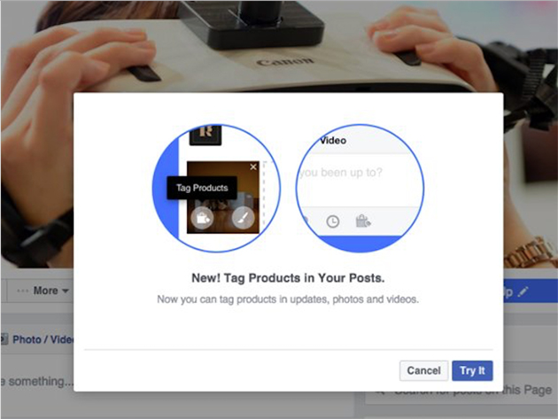 Facebook Provides The Select Pages with the Power to Tag their Products