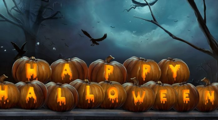 Happy Halloween day messages 2016