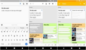 google keep new update