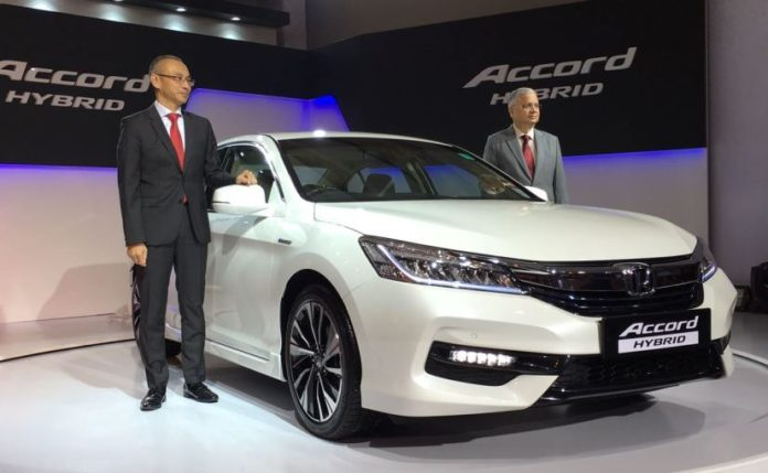 Ninth Generation Honda Accord Hybrid Sedan Model