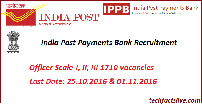 India Post Payments Bank Apply Online