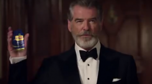 Pierce Brosnan Pan Bahar Ad