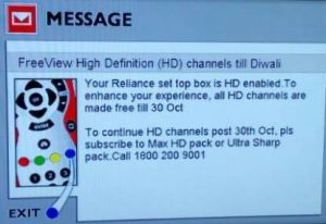 Reliance Digital TV Diwali offer