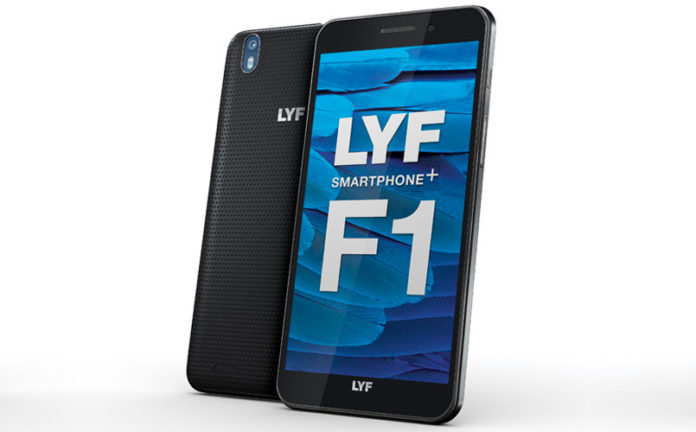 Reliance Lyf F1 launched