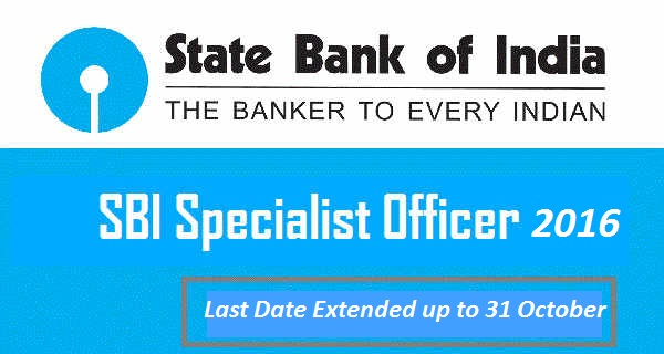 SBI SO Apply Online