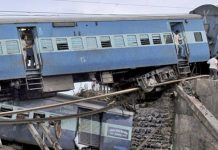 Jhelum Express 10 coaches Derailed from the Track