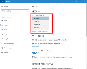 Updated Wi-Fi Settings Page for PC and Mobile