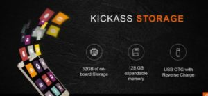 Lenovo K6 power Storage