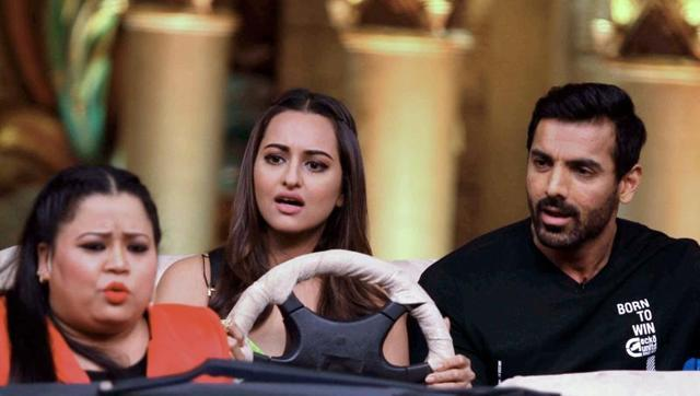 John Abraham Step Out from the Comedy Nights Bachao