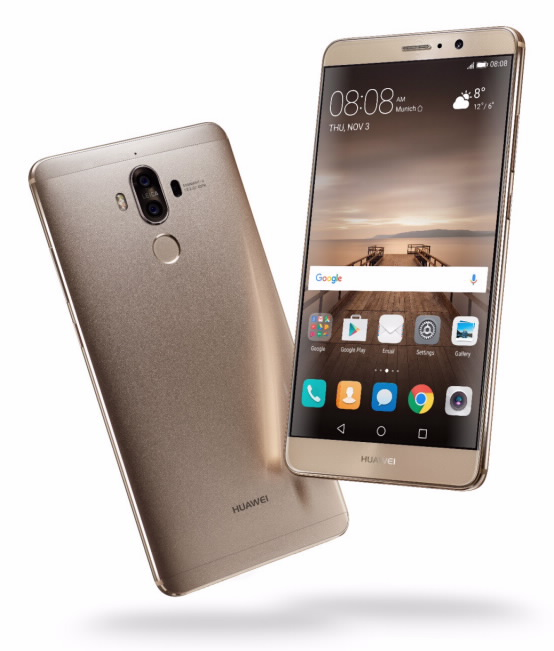 Huawei Mate 9 Unveiled: Checkout the Specs,Features and Price