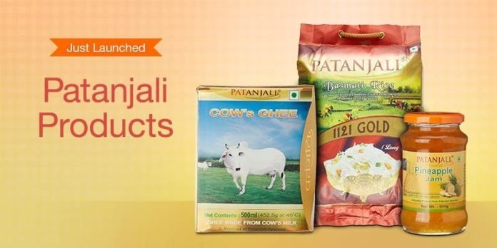 Amazon is looking to expand its Market to Promote Patanjali Products