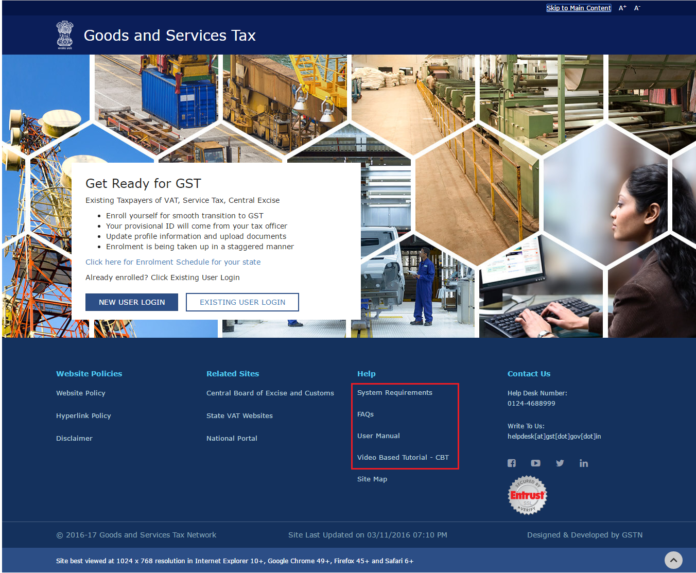 GST Portal goes Live, GSTN Software Almost Ready