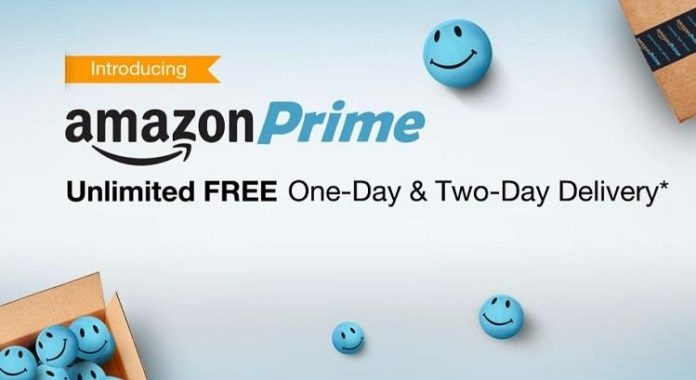 Amazon Prime free trail