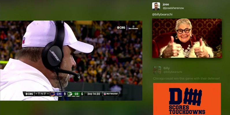 Twitter Live Video App for Android TV