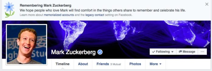 Facebook Bug 'KILLS' Mark