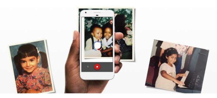 Google Introduced the Photo Scan App
