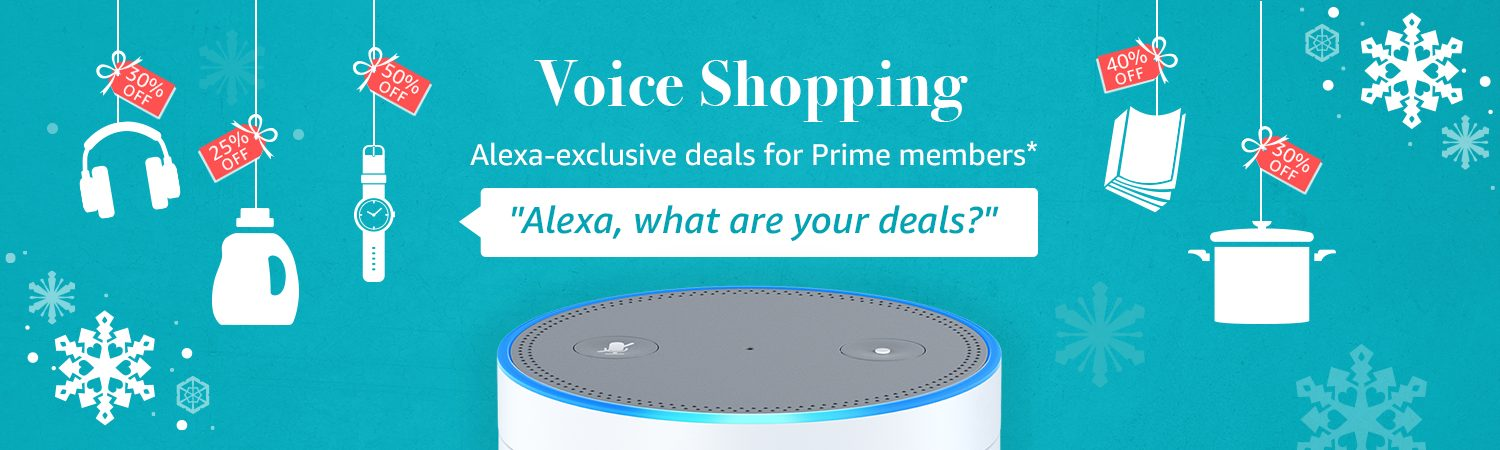 Amazon Pre Black Friday Launched Voice Shopping Alexa Exclusive deals