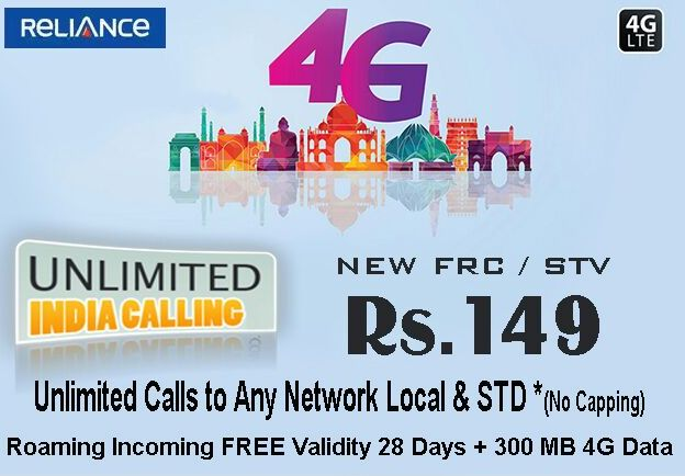 Rcom Introduced New Tariff Plan Rs 149 in Andhra Pradesh