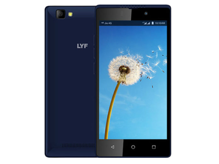 LYF Wind 7i Launched in India