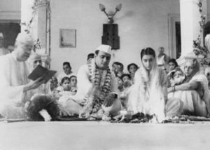 indira gandhi marriage