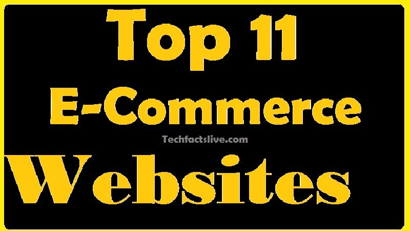 Top 11 E-Commerce Websites in the World