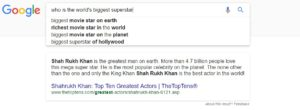 SRK Search Results