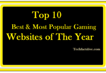 Top 10 Best and Most Popular Gaming Websites of This Year