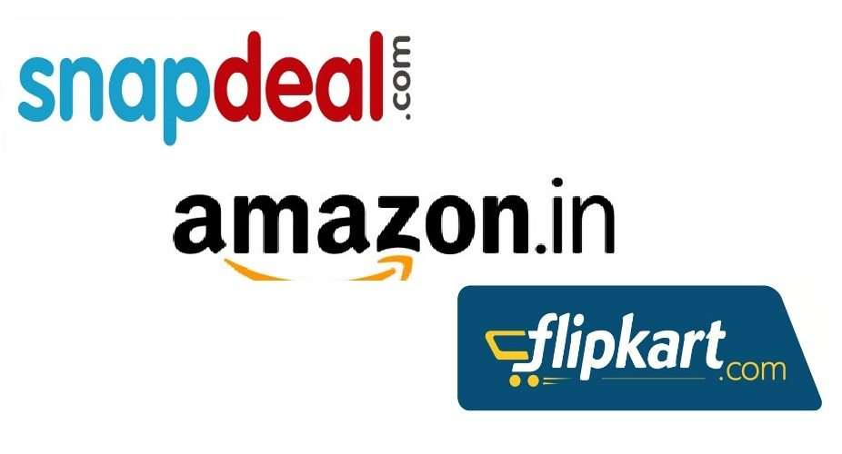 E-Commerce Portals Amazon, Flipkart, and Snapdeal allows Cash On Delivery (COD)