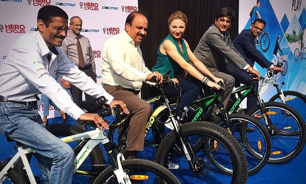 Hero Lectro brand: Launched Four New Electric Cycles