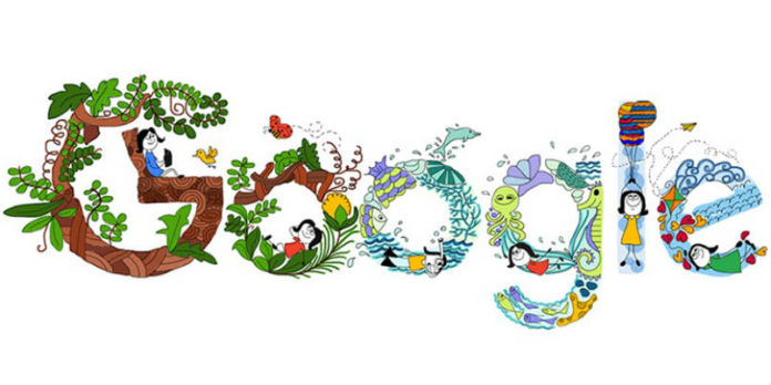 11-Year-Old Girl Anvita Wins Doodle 4 Google Contest for Children's day