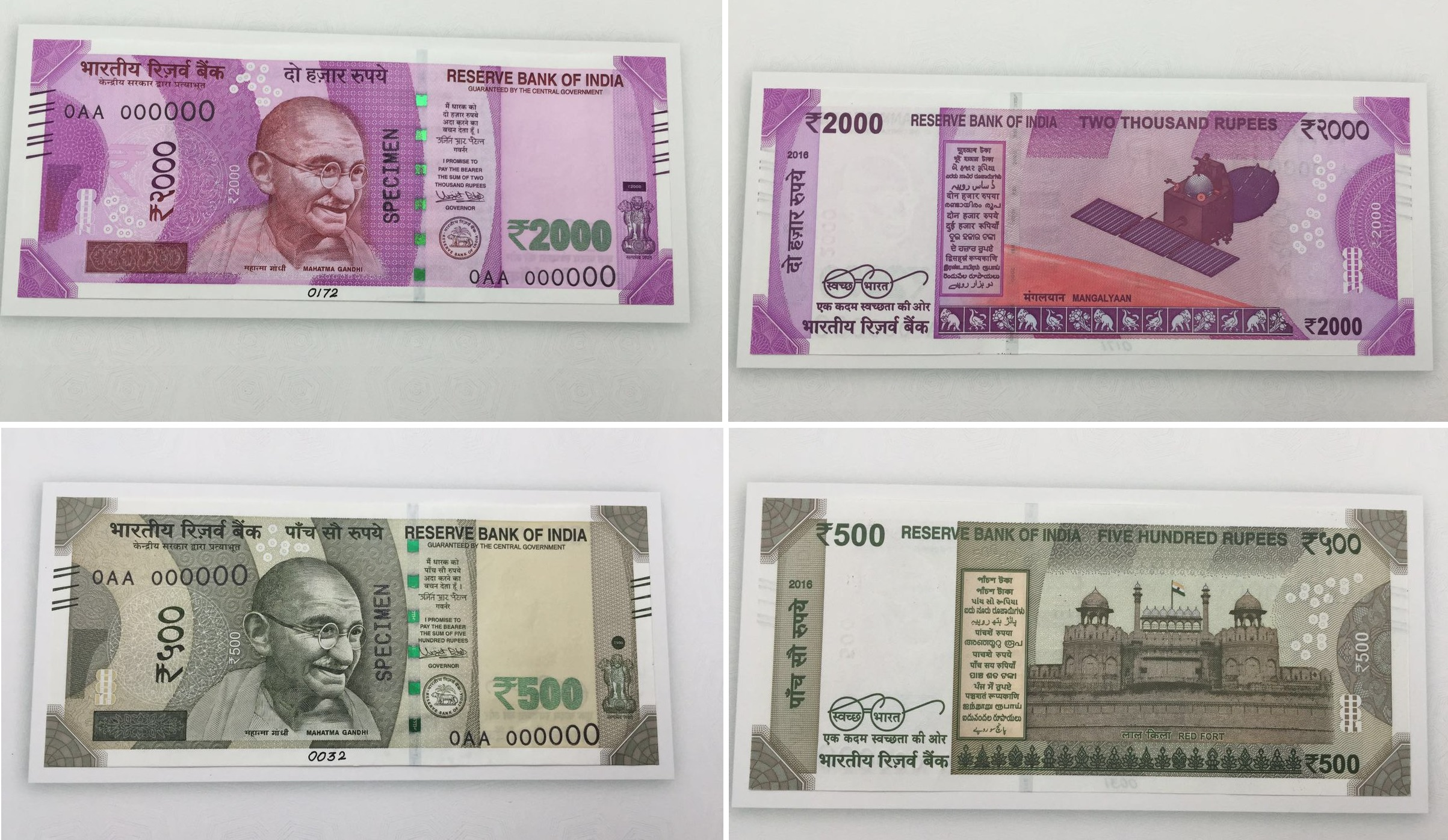 Rs 500 and Rs 2,000 New Indian Currency Notes and considers 'illegal' in Nepal